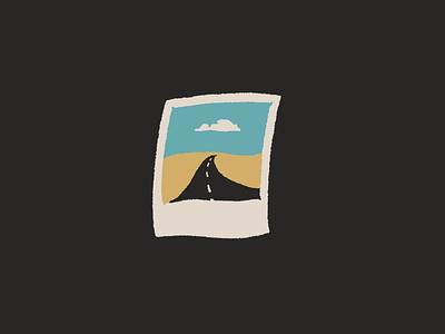 little polaroid roam explore roadtrip travel great plains nebraska design drawing sketch little mountain print shoppe joe horacek hand drawn illustration polaroid
