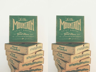 Mount Arrowhead | Stacked Boxes