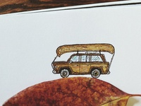 Wagoneer in Autumn