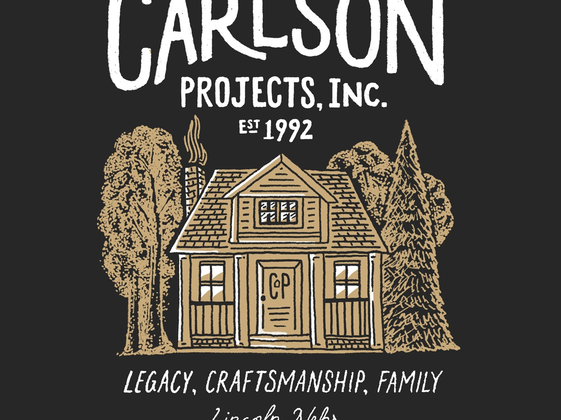 Carlson Projects Inc (1 of 2) carlson projects craftsmanship lincoln screen printing nebraska lettering design drawing sketch hand drawn type illustration typography little mountain print shoppe joe horacek