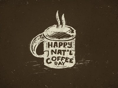 Happy natl coffee day 1