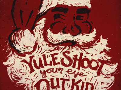 Yule shoot your eye out kid