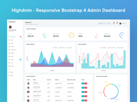 Highdmin - Admin Dashboard