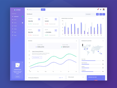 Hyper - Admin Dashboard web app ui modern flat ecommerce dashboard crm colorful admin dashboard admin bootstrapthemes