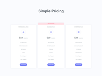 Pricing Page - Hyper Admin