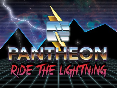 Pantheon - April Fools easter egg pantheon retro futurism cyberpunk