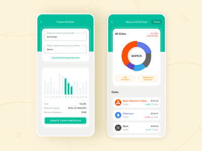 Cryptocurrency Mobile App 3.0 color digital wallet bitcoin digital currency crypto exchange crypto currency cryptocurrency crypto wallet landing page product design interaction design after effects dashboard ios app minimal design interface design mobile app adobe xd