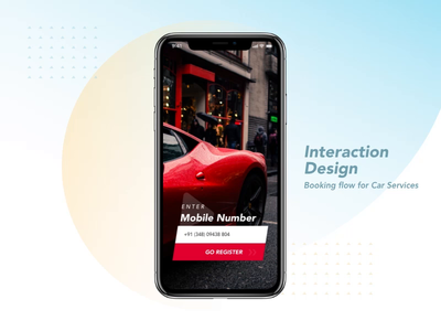 Booking for Car Service - Interaction interaction car wash minimal design ui animation after effects user interface design booking flow booking car service icon car services interaction animation interactions interaction design iphone x ios app ios interface design design adobe xd mobile app