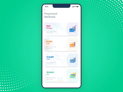 Mobile Payment Gateway Interaction payment gateway card pay wallet shopping green payment succesfull card payment interaction animation interaction design payments payment app payment method payment logo after effects iphone x ios app interface design adobe xd mobile app
