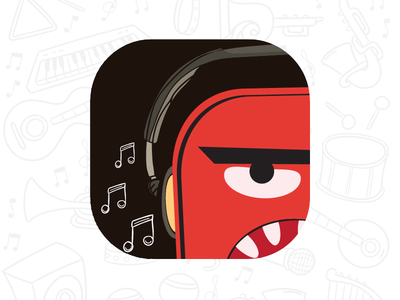 Icon player icon ios dribbble icon music music player icon player