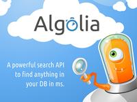 Algolia - Realtime Search as a Service