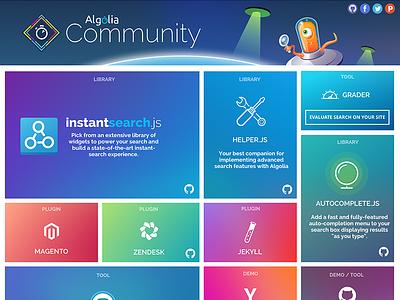Algolia Community open-source community algolia api search