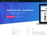 Algolia Search for WordPress