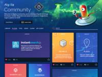 Iterating on community.algolia.com