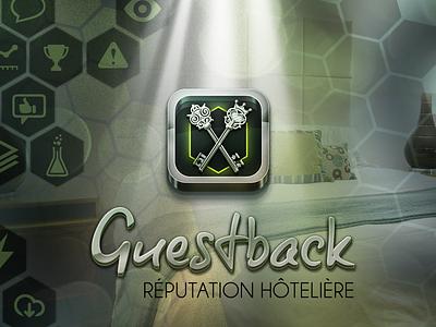 Guestback - App Icon ios guestback orm saas reputation hotel app bigdata ereputation