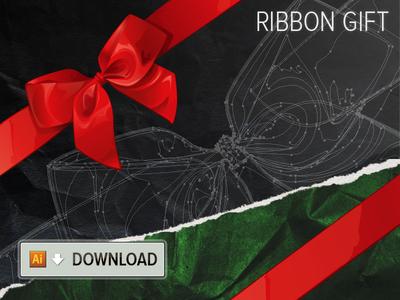 Xmas Gift Ribbon