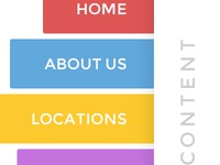 Sidebar mobile menu
