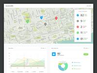 Map Dashboard