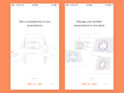 Flying Onboarding! clean bright ios tutorial walk through walkthrough onboarding