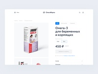 product card pharma pharmacy ecommerce design ecommerce shop store minimalism ecommerce design clean ux ui