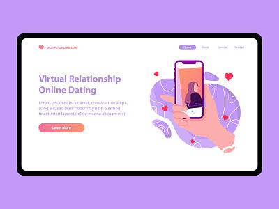 Dating Web Design datingapp dating webdesign design ux ui web