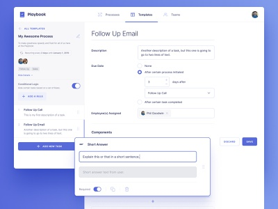 Template Builder UI form grid date time checkbox template purple streamline icons inter app web app ux ui task form builder builder components input forms