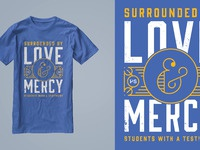 Love mercy tee
