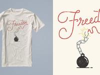Freedom shirt mock