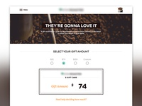 E-Gift Card Walkthrough