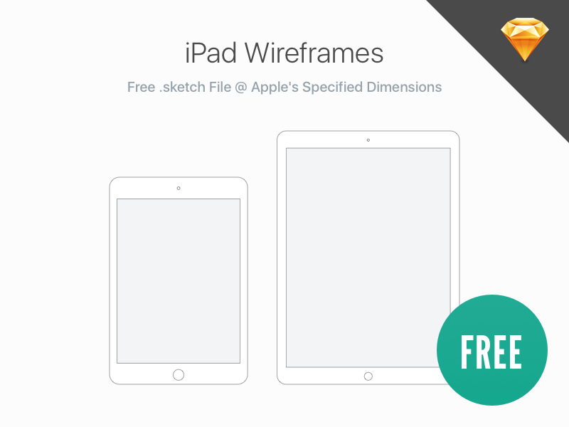 Free: iPad Wireframes sketchapp sketch san francisco apple ux ui wireframes ipad free