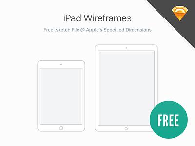 Free: iPad Wireframes sketchapp sketch san francisco apple ux ui wireframes ipad free