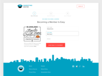 Sign Up Page Concept