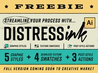 DistressInk FREEBIE