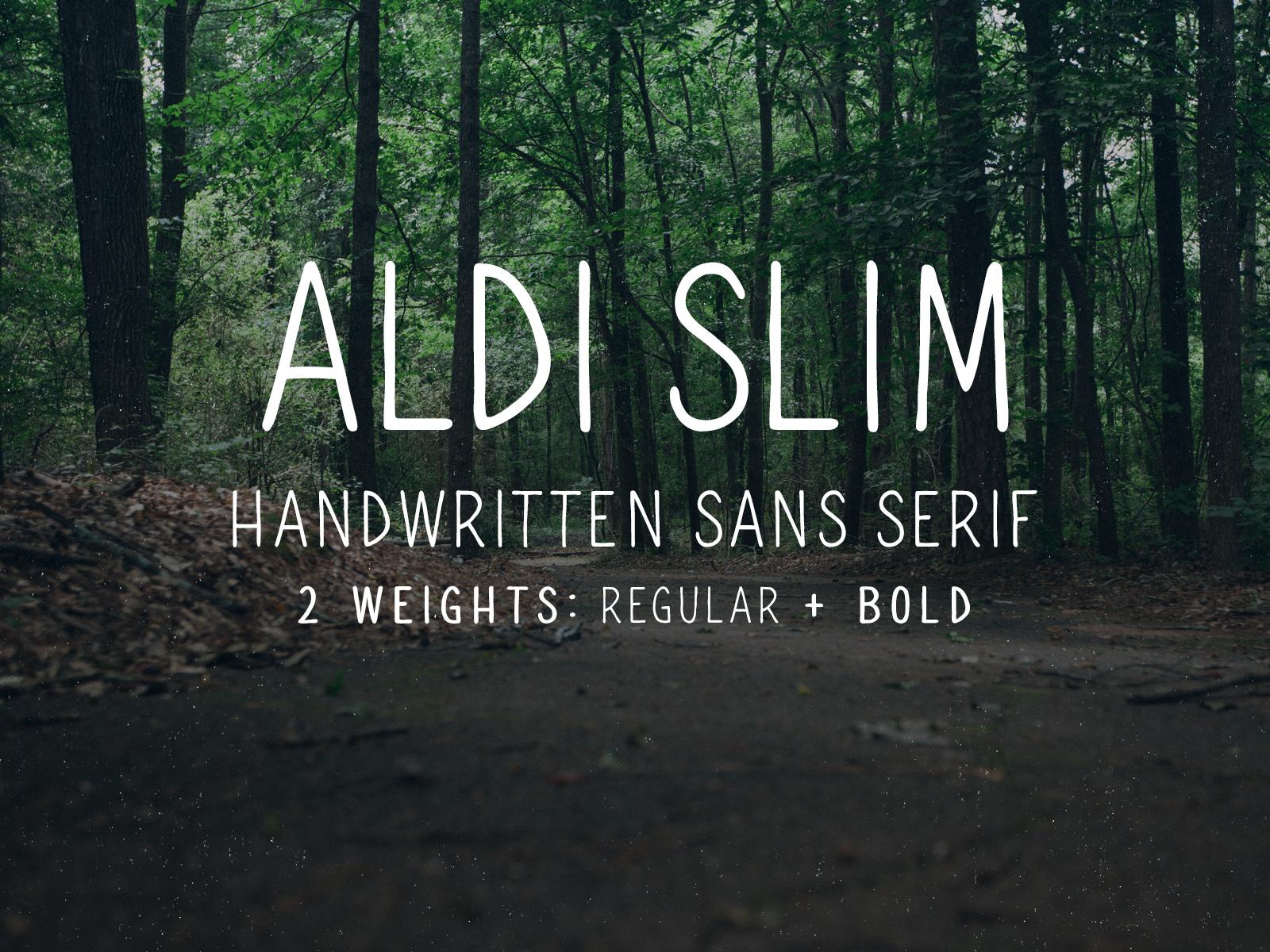 Image aldi slim