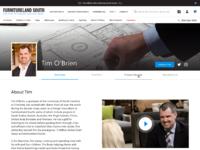 Our design experts   designer bio template 2x