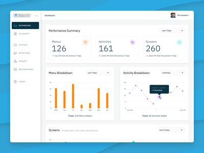 VS Platform - Dashboard