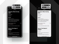 Notes - Light/Dark Mode