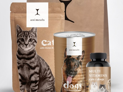 Pet food subscription - homepage proposal
