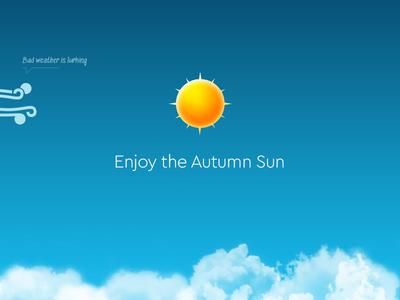 Autumn Weather Icons