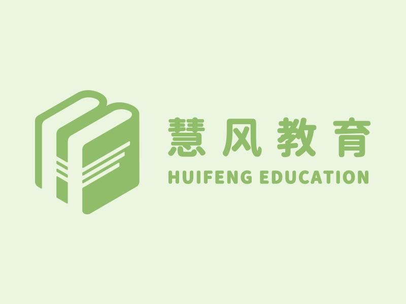 Huifeng Education book student school education logo