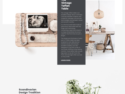 Tubik Studio | Björn scroll animation motion photo minimal landing white interface web ux ui