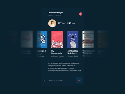Tubik Studio | Book Swap books app book animation motion minimal dark social interface ios ux ui