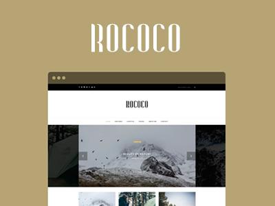 Rococo - WordPress Theme for Bloggers