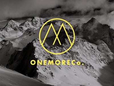 Logo - One More Co. monogram symbol branding event action sport snow mountain logo logotype