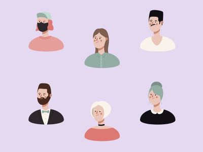 Characters icon drawing simple flat 2d illustration design dribbble vector creative clean characterdesign character artwork artist art adobe illustrator adobe
