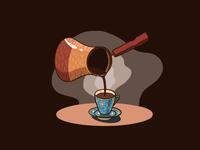Some Turkish coffee