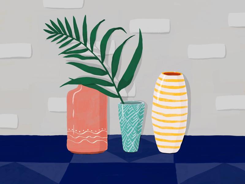 Home decor interior decor vase home plant