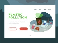 Pollution web page