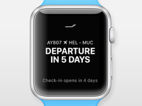Finnair Apple Watch