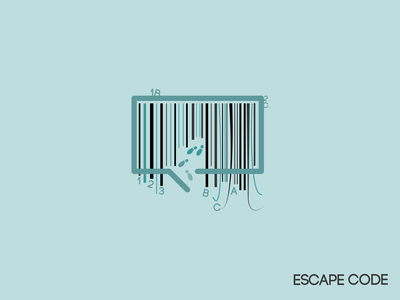 Escape Code - Escape Room Logo